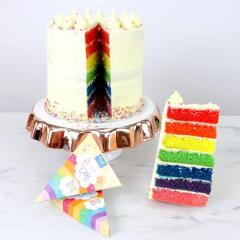 PME komplet barv za mavrično torto