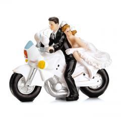 Poročni par na Motorju