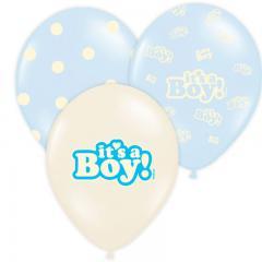 Baloni Pastel Modri, It's a Boy