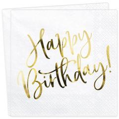 Servieti Happy Birthday št.1