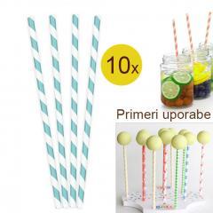 Palčke za Cake Pops ali slamce 10 kom št.19