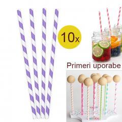 Palčke za Cake Pops ali slamce 10 kom št.21