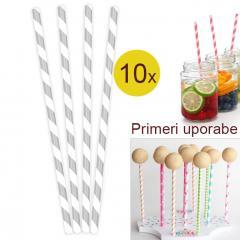 Palčke za Cake Pops ali slamce 10 kom št.7