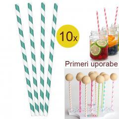 Palčke za Cake Pops ali slamce 10 kom št.9