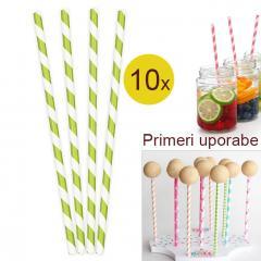 Palčke za Cake Pops ali slamce 10 kom št.11