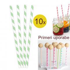 Palčke za Cake Pops ali slamce 10 kom št.22