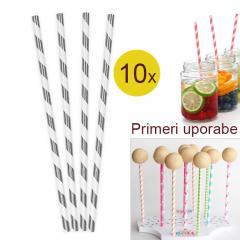 Palčke za Cake Pops ali slamce 10 kom št.24