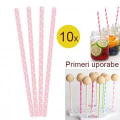 Palčke za Cake Pops ali slamce 10 kom št.16