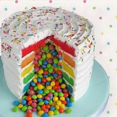 Mavrična torta