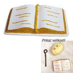 Zlato Sveto Pismo, tortni okras za Sveto Birmo