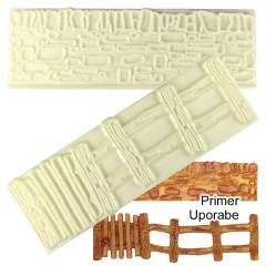 JEM modelčka za zid in ograjo 14,8 x 4,5 cm