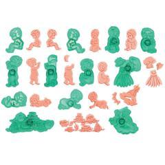 JEM modelčki dojenčki 14,8 x 4,5 cm
