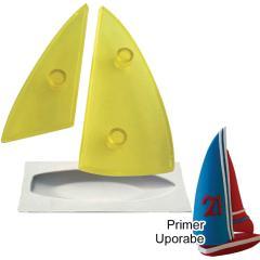 JEM modelček 3D jadrnica, 3 delni