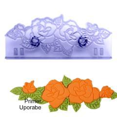 JEM modelček za vezenje vrtnic 13,5 x 5 cm