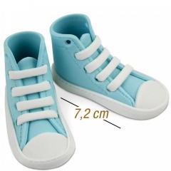 Jedilne superge Baby modre 7,2 cm