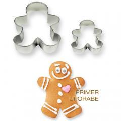 Modelčka piškotek, PME, 2 delni
