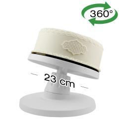 PME vrtljiv podstavek za torte z nagibom, 23 cm