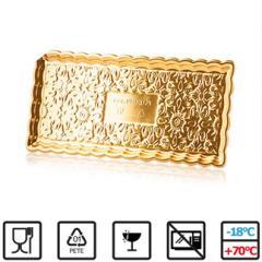 Zlat podstavek 35x15 cm