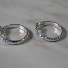 Srebrna poročna prstana