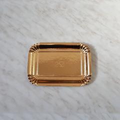 Zlat pladenj za piškote in pecivo št:2