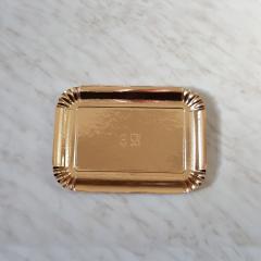 Zlat pladenj za piškote in pecivo št:3