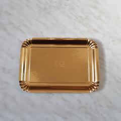 Zlat pladenj za piškote in pecivo št:4