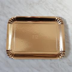 Zlat pladenj za piškote in pecivo št:6