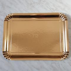 Zlat pladenj za piškote in pecivo št:7