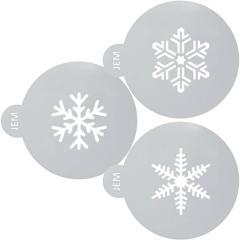 Šablona Snežinke (JEM) 3 delni