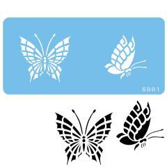 Šablona dva metuljčka (JEM)