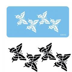 Šablona štirje metuljčki (JEM)