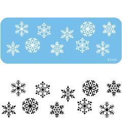 Šablona Snežinke (JEM)
