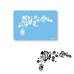 Šablona Romantična vrtnica (JEM)