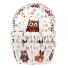 HoM papirčki za muffine SOVICE