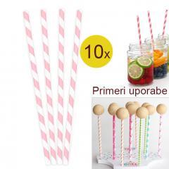 Palčke za Cake Pops ali slamce 10 kom št.1