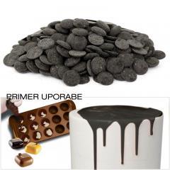 Čokolada za topljenje - TEMNE ploščice 300g
