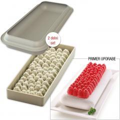 Silikomart silikonski pekač 3D MALINE