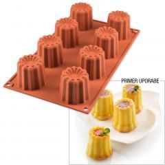 Silikomart silikonski pekač CANELE