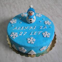 Zimska tortica