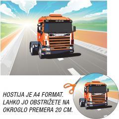 Hostija Tovornjak A4