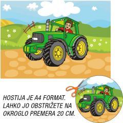 Hostija Traktor, Zelen A4