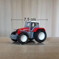 Figurica rdeč Traktor