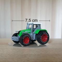 Figurica zelen Traktor
