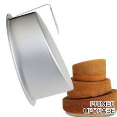 Pekač za deformirano torto 20 cm