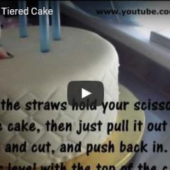 Kako učvrstimo večnadstropno torto