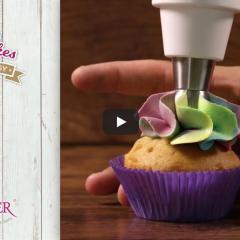 Enostavna izdelava mavričnih muffinov