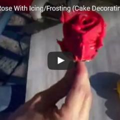 Kako naredimo vrtnice za torto