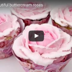 Izdelava vrtnice iz maslene kreme