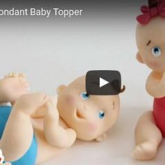 Kako naredimo dojenčka iz Fondanta - modelirne mase