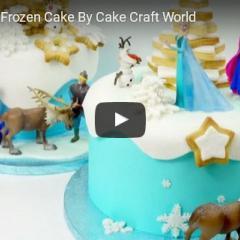 Kako naredimo enostavno Frozen - Ledeno kraljestvo torto